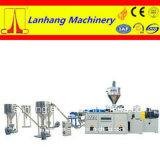 Doppelschraubenzieher PVC-heiße Ausschnitt-Luftkühlung-Pelletisierung-Zeile