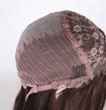 強打のバージンの赤ん坊の毛を搭載するブラジルのGluelessの人間の毛髪のレースの前部かつらが付いている最もよく長く完全なレースの人間の毛髪のかつら