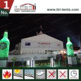 barraca grande de 20m x de 60m com pico elevado para o festival da cerveja de Qingdao