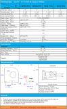 Endlosschleifen-Hall-aktueller Signalumformer verwendet für Solarkombinator-Kasten-Messen