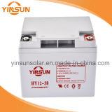 12V 38ahの強国の太陽Lead-Acid電池