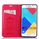 Cas en cuir de couverture de pochette de chiquenaude pour la galaxie A5 de Samsung