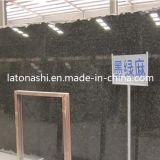 Galette verte Polished de pierre de granit du Brésil Verde Ubatuba pour le pavage