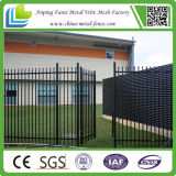 Polvere Coated Spear Top Tubular Steel Fence Panels per Au Market