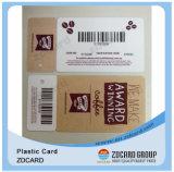 Offest Drucken-Barcode/magnetischer Streifen/Metallvip-Karte