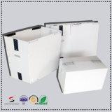 Caixa PP da modificação da embalagem dos PP Corflute Correx Coroplast que dobra a caixa