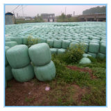 Película de estiramento verde da bala de feno da película do envoltório da ensilagem