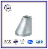 Ajustage de précision de pipe excentrique d'acier inoxydable de réducteur 304 316