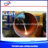 Llama del CNC/cortadora portables del plasma para el tubo del diámetro grande al aire libre