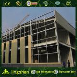 Edificio moderno prefabricado certificado ISO del almacén