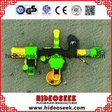 جديدة تصميم ملعب خارجيّة منزلق بلاستيكيّة مع أرجوحة لأنّ أطفال