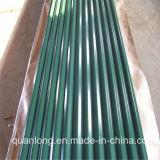 Colorer les feuilles en acier ondulées enduites de toiture
