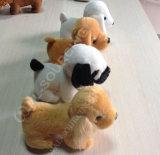 かわいい犬の子犬のプラシ天のおもちゃ