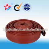 Mangueira branca ou preta da alta qualidade do PVC de incêndio/mangueira de Layflat (personalizada)