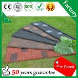 Bunte Baumaterial-Stein-überzogene Dach-Fliese-Form-flaches Dach-Material