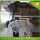La venta al por mayor 201 304 de China grabó al agua fuerte el material inoxidable del producto de acero para el panel de la puerta del elevador