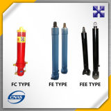 Cilindro hidráulico telescópico de FC/Fe/Fee Hyva para o caminhão de descarga