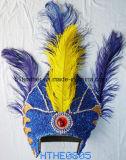 最も安いハンドメイドのインドの羽の頭飾り(党、のDionysia、衣裳祝うこと)