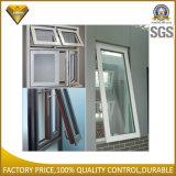 Finestra di vetro di alluminio di alta qualità con il suono e l'isolamento termico