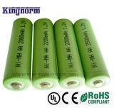 1.2V 2200mAh AA NIMH電池
