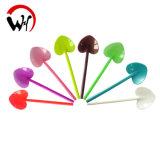 Colheres plásticas do serviço dos utensílios de mesa descartáveis da cor
