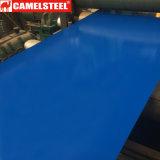 De kleur bedekte de Vooraf geverfte Gegalvaniseerde Rol PPGI van het Staal voor de Plaat van de Muur met een laag