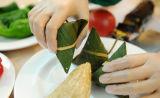 Перчатки верхнего сегмента устранимые напудрили перчатки винила для пищевой промышленности