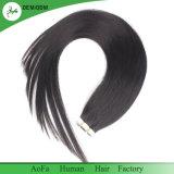 Natürliche schwarze Menschenhaar-Band-Haar-Extension 100% der Farben-1b# hochwertige