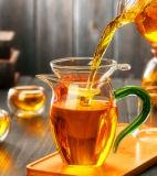 Taza de té de cristal de cristal de cristal de la taza de la taza de té del conjunto de té