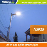 5W-120W Integrated LED Solar Street Sensor Light com Controle Remoto para Jardim