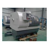 Máquina hidráulica do torno do CNC do mandril Ck6150A da elevada precisão automática