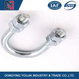 Befestigungsteil-Energie, die u-Typen Schrauben mit Mutter/galvanisierter u-Schrauben-Kabelschelle befestigt