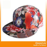 Camoの平らな縁5のパネルの急な回復の帽子