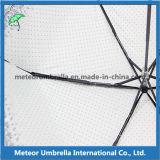 Falten-kompakter gedruckter Spitze-Vorstand-kleiner Regenschirm des Aluminium-5