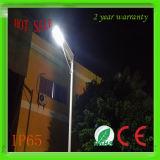 Nuovo indicatore luminoso di via solare dei prodotti 6W LED della Cina, tutto in un indicatore luminoso di via solare Integrated