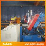 De auto CNC Scherpe Machine van de Pijp van het Staal van de Lintzaag