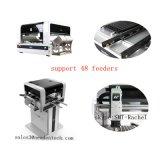 Linha de produção quente máquina visual da picareta da venda SMT e do lugar com trilhos