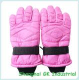 Розовые перчатки мотоцикла перчаток катания на лыжах снежка перчаток