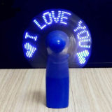 주문 프로그램 소형 USB LED 섬광 메시지 팬
