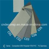 Tela da proteção solar da fábrica para cortinas de rolo