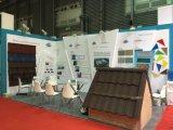 Mattonelle di tetto del metallo con i chip di pietra ricoperti