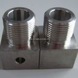 아연 Plated Stainless Steel CNC Machining 또는 Machined Part