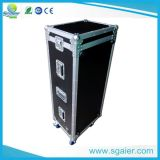 Non-Slip Plywood Flight Case for Holding 2 LCD TV Screens with Casters