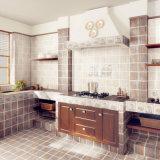 300X600mm Tintenstrahl glasig-glänzender Wand-Keramikziegel der Küche-3D (2M3904A)