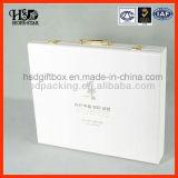 Caixa de presente de madeira de 2015 cosméticos luxuosos da qualidade de Hingh