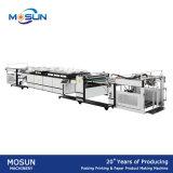 Msse-1200A 얇은 종이에 자동적인 UV 유화 기계