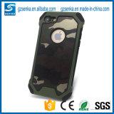 Caja a prueba de choques accesoria del teléfono del camuflaje del teléfono para el iPhone 6/6 más