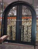 アーク上の古典的なデザインWrougtの鉄のドア