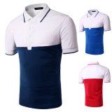 Le camice adatte 100% di Dri della maglietta del cotone di colore di misura dei capretti asciutti su ordinazione del Mens di combinazione di polo degli uomini all'ingrosso della maglietta comerciano la Cina all'ingrosso