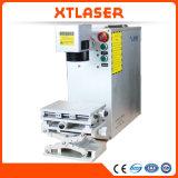 Bewegliches Handmini20w 30W 50W Gold und silberne Laser-Gravierfräsmaschine